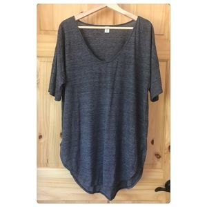 Old Navy space dye drop sleeve tunic Sz XL